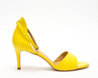 AnnVladi Yellow Sandals
