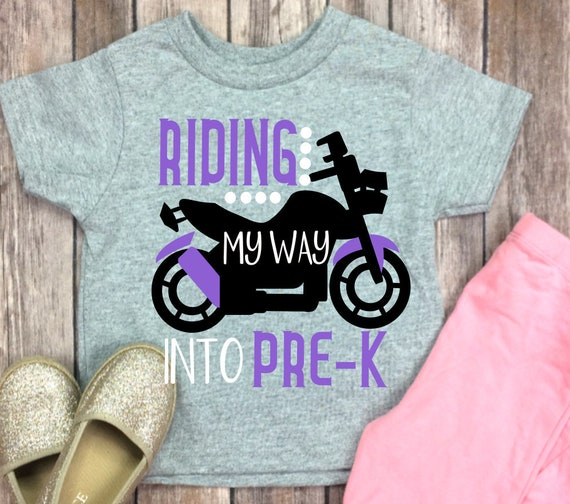 Riding My Way Into Pre K Preschool Svg Svg Dxf Png Cutting Etsy