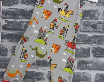 Knights and dragons dungarees / Romper