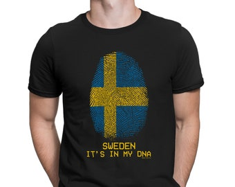SWEDEN VIKING FACE MENS T SHIRT RUSSIA WORLD NATIONAL SWEDISH CUP FLAG 2018