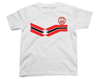 c0463c59a5b POLAND Polska World Cup 2018 KIDS Unisex T-Shirt FOOTBALL New Style Retro