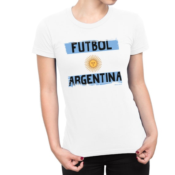 911f6891f2f Womens T-Shirt Futbol ARGENTINA World Cup 2018 Football