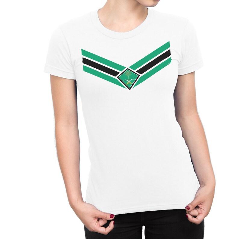 2e8140e93 Saudi Arabia World Cup 2018 Ladies T-Shirt FOOTBALL V Team