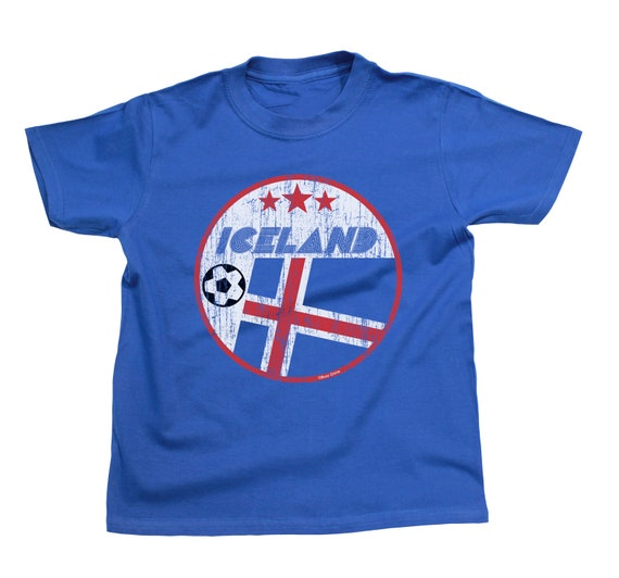 DANISH AF Boys or Girls Denmark T-Shirt FOOTBALL World Cup 2018 Kids Sports Top