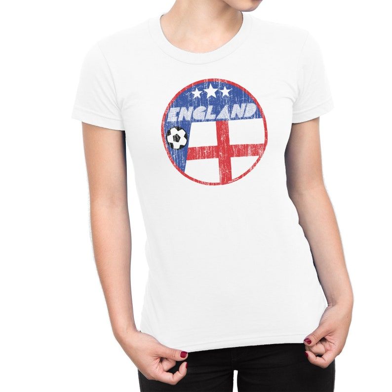 e2b67831 ENGLAND LADIES T-Shirt FOOTBALL Rugby Cricket World Cup 2019 | Etsy