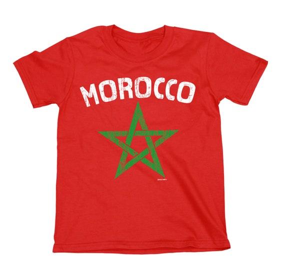 AFRIQUE DU SUD KID/'S T-shirt pays drapeau carte Top Pour Enfants Garçons Filles Unisexe