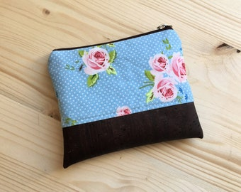 Purse, makeup bag, key case, coin purse, cosmetic bag, zippered pouch