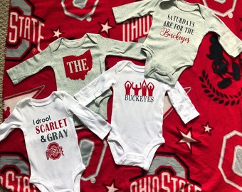 lowest price 30f28 3664e Ohio state baby | Etsy