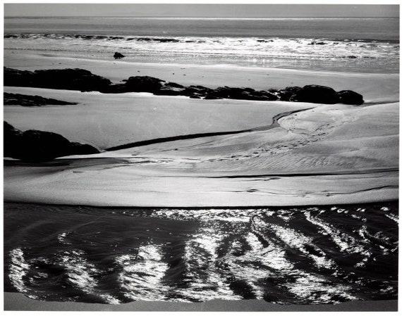 Ansel Adams Original Refugio Beach California Vintage Etsy