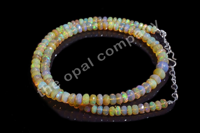 2.5-4 MM Fire Beads Welo Fire Wholesale Opal Lot 21 Cts CLOSEOUT SALE Natural Ethiopian Opal Smooth Round Beads