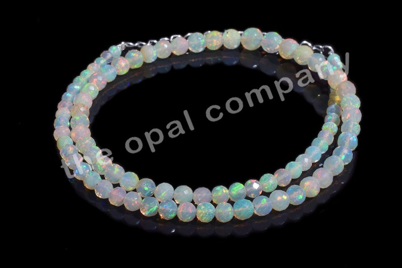 Color Opal Beads 16 Inches Strand 3-5 MM Exclusive Ethiopian Cherry Opal Faceted Rondelle Beads