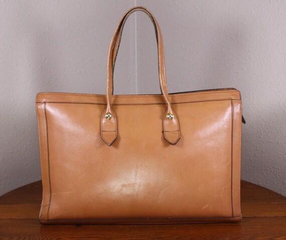 1 Saddle Leather True Vintage 1970s Mod Modern Bro