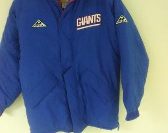 2443c8e28 Vintage 90s NY Giants Pro Line Winter Jacket Size (S)