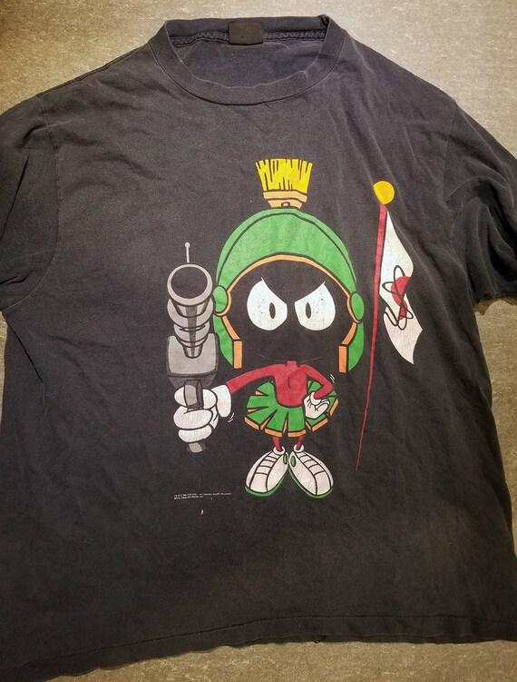 1f2268e6dba5 Vintage 90s Marvin the Martian T Shirt S XL