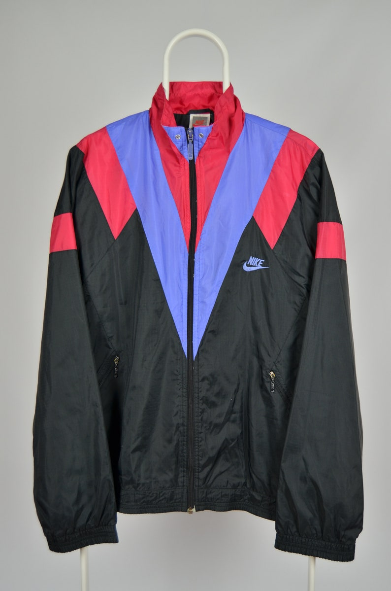 Rare Vintage 90s Nike Just Do It Windbreaker Tracksuit top