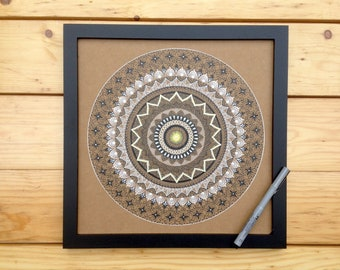 Mandala drawing
