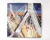 Zakim Bridge Print on Canvas (12 inches x 12 inches)
