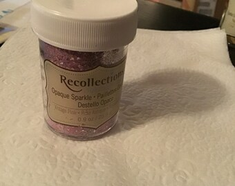 Recollection Opaque Sparkle Embossing Powder