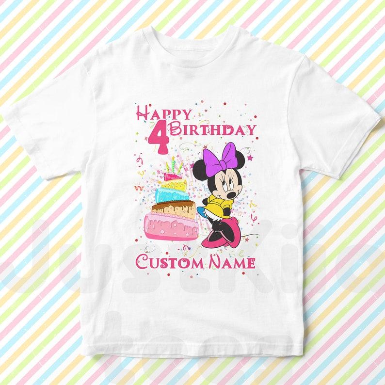 b1351412 Minnie Mouse Custom birthday Shirt Minnie Mouse Design | Etsy