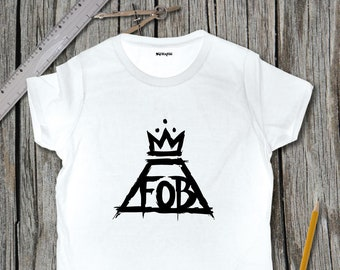 Fall Out Boy LOGO Sketch T-Shirt | SketchTee