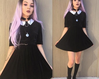 Wednesday Addams Full Body Outfit