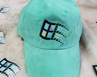 VAPORWAVE WINDOWS aesthetic tumblr unisex baseball cap e323bd23ab4