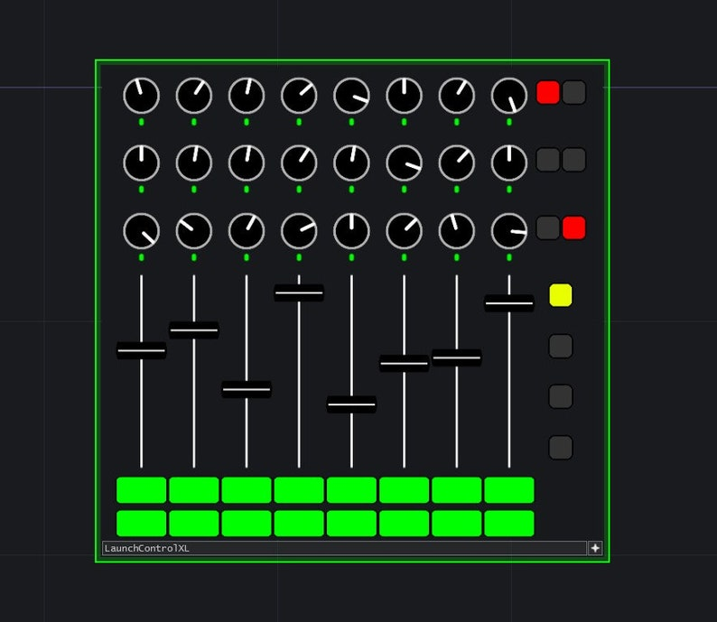 LaunchControlXL TouchDesigner Component image 0