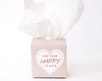 50s set for your happy Tears   Pleasures Tears Handkerchief Boxes