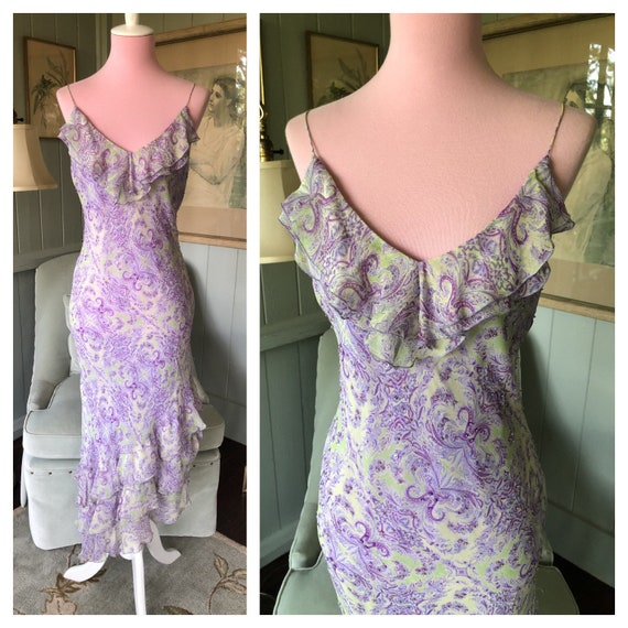 20s Style Dress, Silk Dress, 20s Dress, 90s Does 2