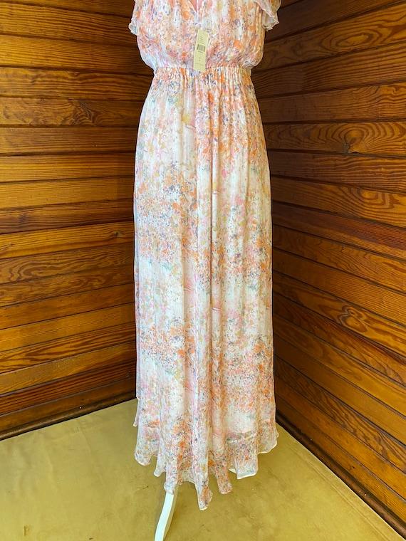 20s Style Dress, Chiffon Dress, 20s Dress, Vintag… - image 9