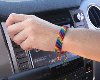 f4783bf4c4fa5 Gay pride bracelets | Etsy