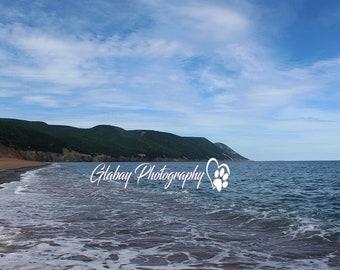 Cabot's Landing, Cape Breton, Nova Scotia, landscape, photography, digital download,
