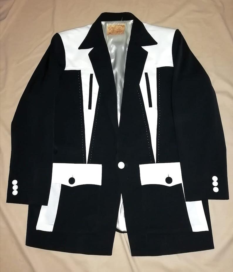 Men's Vintage Jackets & Coats Rockabilly Hollywood Pistol Jacket $200.00 AT vintagedancer.com