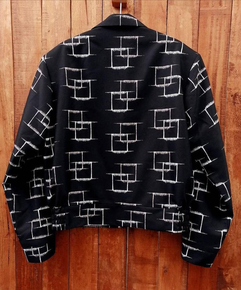 Men's Vintage Jackets & Coats Rockabilly Non Reversible Gab Jacket VLV $150.00 AT vintagedancer.com