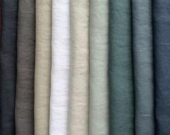 Loose Weave 280cm Wide Curtain Fabric Swedish Floral Green Per Metre