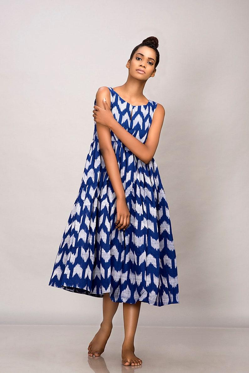 3e169c21b962 Boho maxi dress vegan clothing plus size midi dress blue