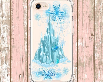 Frozen Castle Case, iPhone 6, 6 plus, 7, 7 plus, 8, 8 Plus, X, Xs, Xs MAX, XR, Samsung Galaxy S8, S8 Plus, S9, s9 plus, Note 8, Note 9