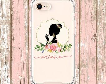 Pretty Girl Custom phone Case Grad Gift, iPhone 6, 6 plus, 7, 8, 7 plus, 8 Plus, X,  Xs, xs Max, Xr, Samsung Galaxy S8 S8Plus S9 s9 plus