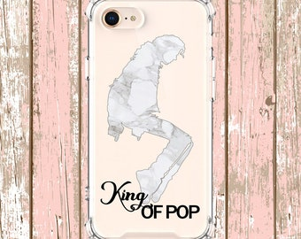 King of POP marble, iPhone 6, 6 plus, 7, 7 plus, 8, 8 Plus, X, Xs, Xs MAX, XR, Samsung Galaxy S8, S8 Plus, S9, s9 plus, Note 8, Note 9
