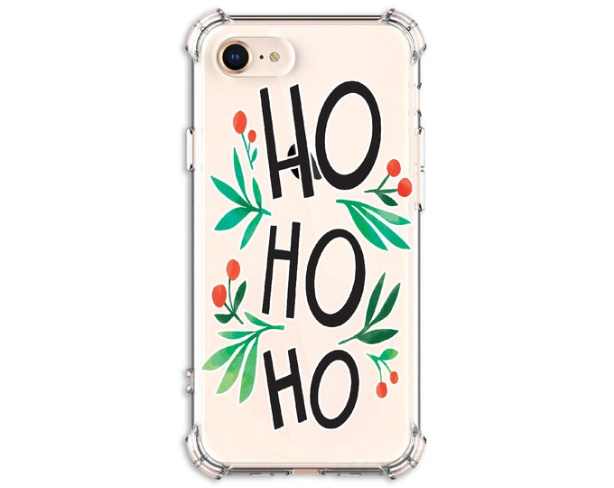 Featured listing image: CHRISTMAS ho ho ho Phone Case, iPhone 11, 11 Pro, 7, 7 plus, 8, 8 Plus, X, Xs, Xs MAX, XR, Galaxy S8, S8 Plus, S9, s9 plus, Note 8, Note 9