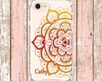 Pretty Mandala case, iPhone 6, 6 plus, 7, 7 plus, 8, 8 Plus, X, Xs, Xs MAX, XR, Samsung Galaxy S8, S8 Plus, S9, s9 plus, Note 8, Note 9