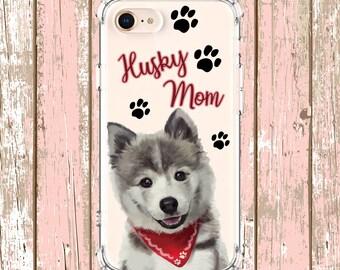 Husky phone case, husky,  iPhone 6, 6 plus, 7, 7 plus, 8, 8 Plus, X, Xs, Xs MAX, XR, Samsung Galaxy S8, S8 Plus, S9, s9 plus, Note 8, Note 9