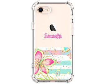 Hibiscus Flower iPhone 12, iPhone 11, iphone xr, Xs MAX, iPhone 11 Pro max, Galaxy S8, S8 Plus, S9, s9 plus, Note 8, Note 9, note 20, s20 fe