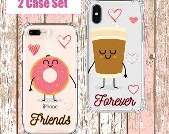 Best Friends set, iPhone SE, 6, 6 plus, 7, 7 plus, 8, 8 Plus, X, Xs, Xs MAX, XR, Samsung Galaxy S10, S8 Plus, S9, s9 plus, Note 8, Note 9