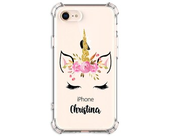 Pretty Lashes Unicorn Horn Case, iPhone 6, 6 plus, 7, 7 plus, 8, 8 Plus, X, Xs, Xs MAX, XR, Galaxy S10, S8 Plus, S9, s9 plus, Note 8, Note 9