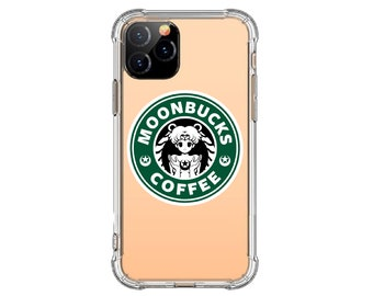 Moonbucks Coffee Case, Sailor Moon Lover Case, iPhone 12, iPhone X, Xs MAX, XR, iphone 11, Galaxy S10, S8 Plus, S20 Fe, S9, s9 plus, Note 10