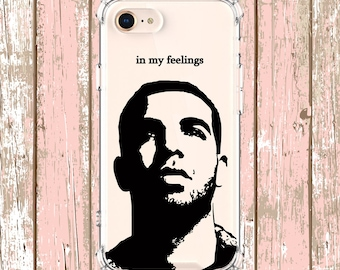 Drake in my feelings, iPhone 6, 6 plus, 7, 7 plus, 8, 8 Plus, X, Xs, Xs MAX, XR, Samsung Galaxy S8, S8 Plus, S9, s9 plus, Note 8, Note 9