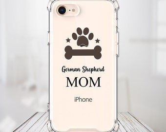 Dog Dad or Mom gift ANY breed, iPhone 6, 6 plus, 7, 7 plus, 8, 8 Plus, X, Xs, Xs MAX, XR, Galaxy S8, S8 Plus, S9, s9 plus, Note 8, Note 9