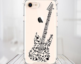 Music Lover Gifts, gifts for Guitar players, Music Teacher Gifts, iPhone xs Max, All iPhone models, Galaxy Models, Music Notes Art