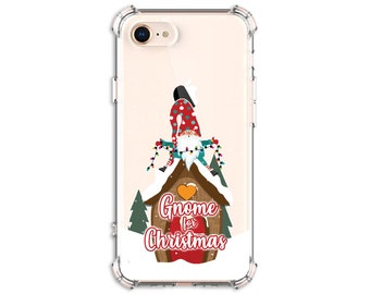 Gnome for Christmas Phone Case, Gnomes, iPhone 12, 11, 11 pro, 11 pro Max, 8, 8 Plus, X, Xs MAX, XR, 12 pro, Galaxy s9 plus, Note 8, Note 9